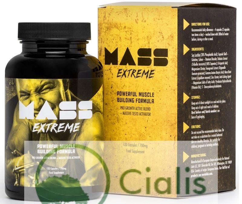 Mass Extreme – tabletki na przyrost masy mięśniowej