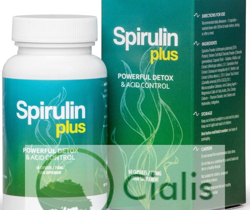 Spirulin Plus – tabletki na oczyszczanie organizmu