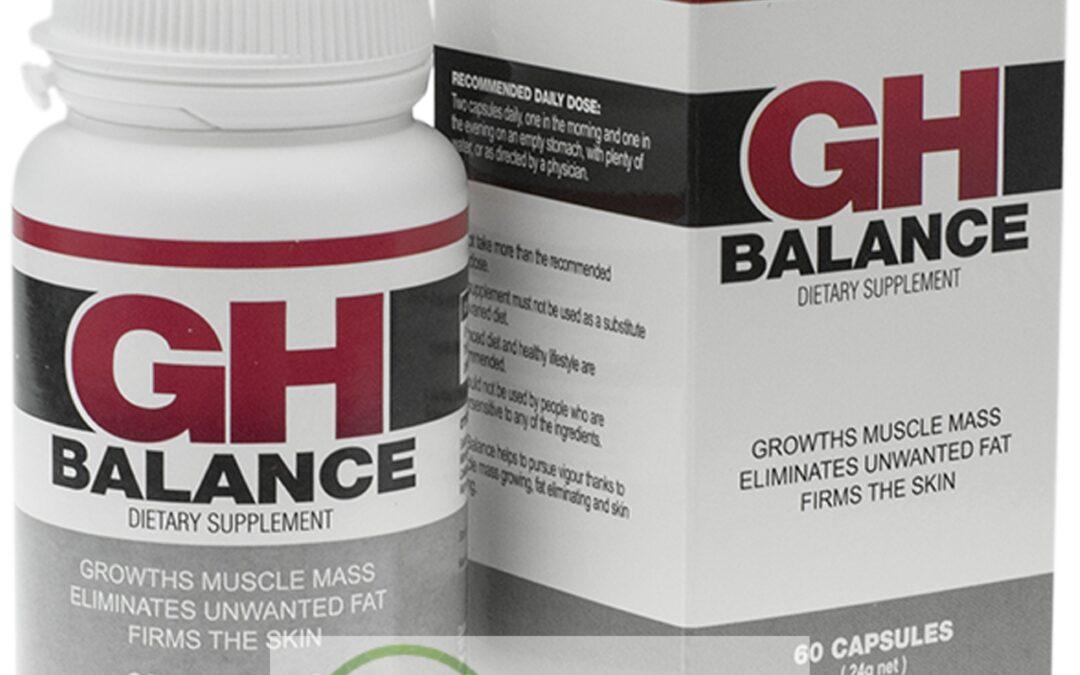 GH Balance – tabletki na przyrost masy miesniowej