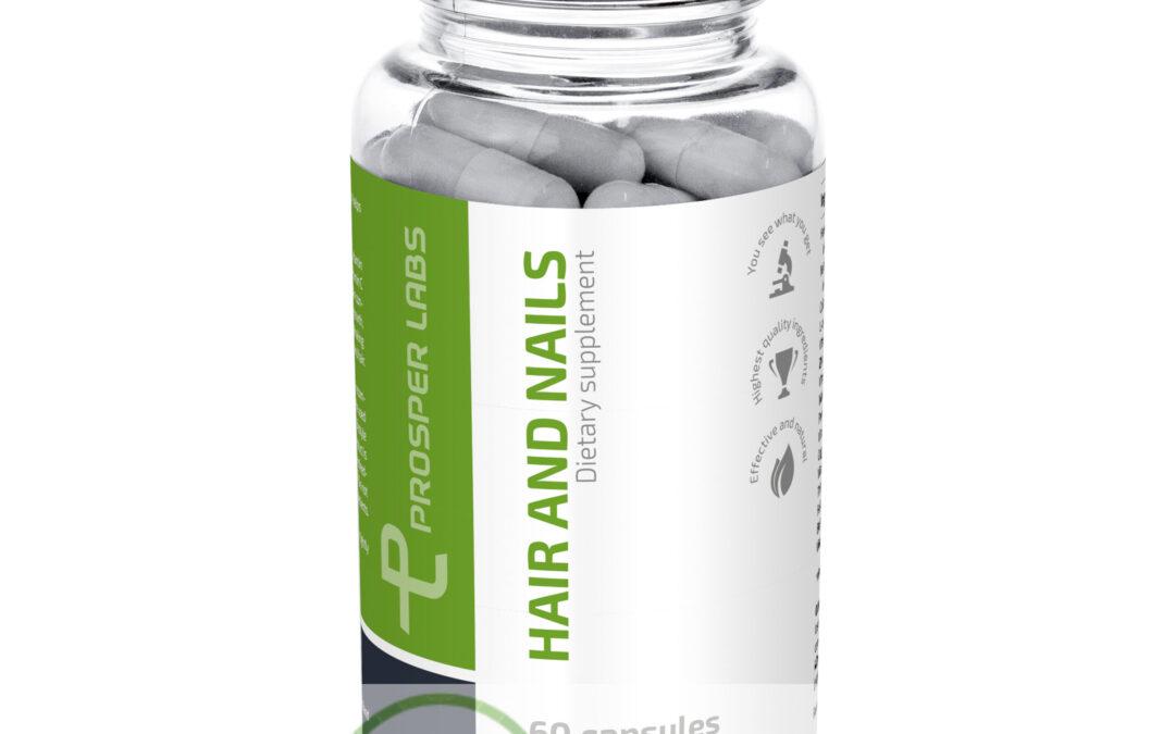 Hair and Nails Prosper Labs – tabletki na włosy i paznokcie